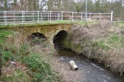 Bull Brook: Warfield Park South Lodge bridge
