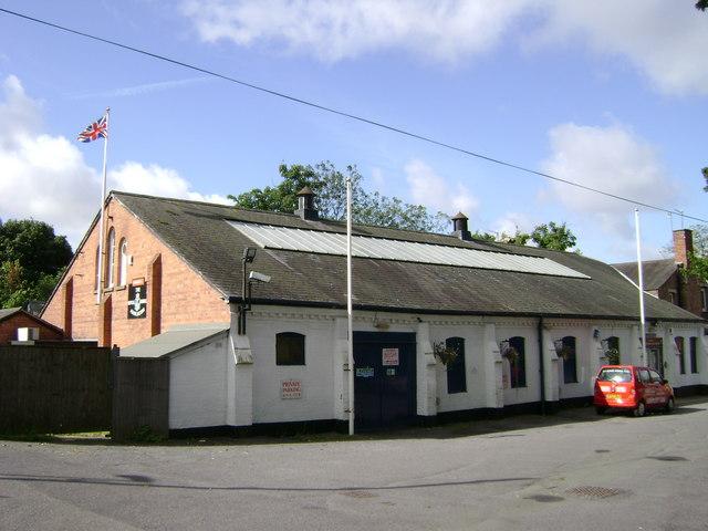 Royal Naval Association premises off Adelaide Road, Leamington Spa