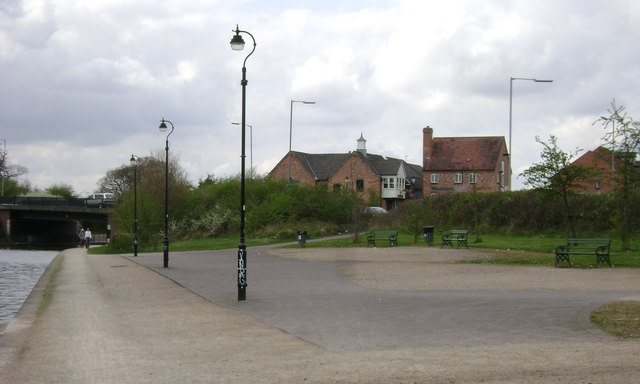 Canalside open space