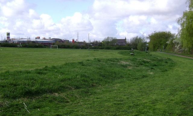 The north side of Shrublands Park