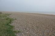 Looking N along pebble beach, Sandwich Bay