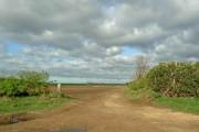 Field road from Retford Road