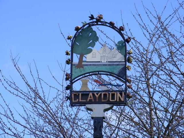 Claydon Village Sign