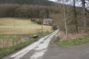 Lower Cwmhir, bridge