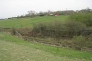 Remains of Bridge LBE 1/35 - over the Leeds-Bradford Line