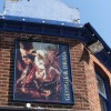 Pub sign of the George & Dragon