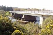 Close up Eastside of Maryculter bridge