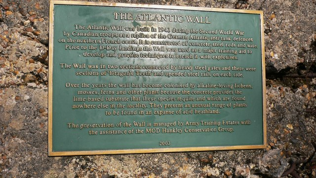 Information about the Atlantic Wall