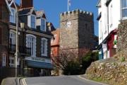 Lynton village