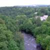 The Afon Dyfrdwy from the Pontcysyllte Aqueduct near Llangollen