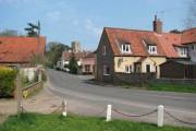 The village of Saxthorpe