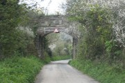 Railway bridge on a disused line