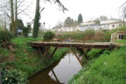 Bridge over a backwater off the River Medway, East arleigh
