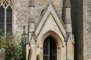 Gothic porch