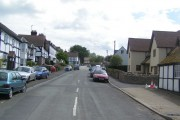 Weobley village