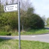 Roadsign to Curlew Green