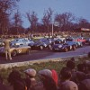Oulton Park - marshalling the starting grid 1957