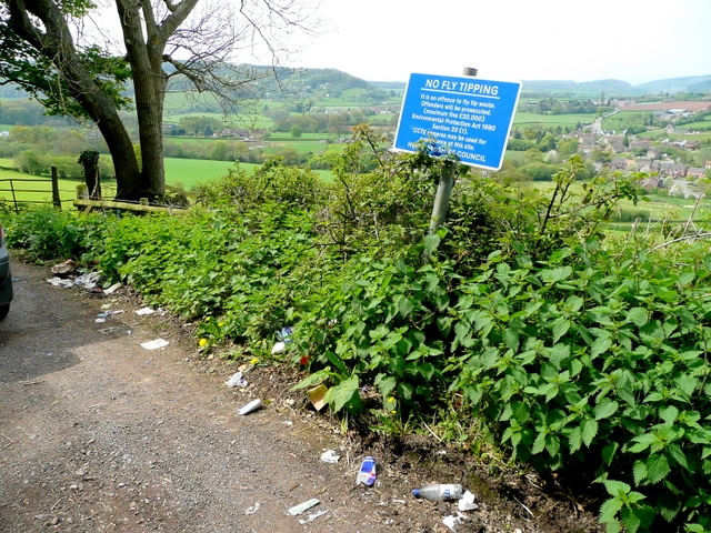 No Fly Tipping?