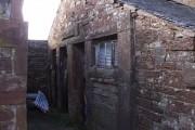 Sandraw, doorway to earlier farmhouse