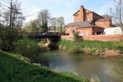 River Derwent and the Flour Mill, Norton