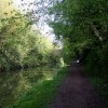 Grand Union Canal approaching Marshcroft Lane Bridge