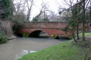 Bridge over the River Swarbourn, Yoxall