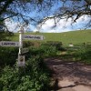 Signpost near Lawford