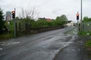 Weak bridge over railway