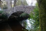 Barnacaber Bridge over Glenfinart Burn