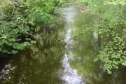 River Brock from Matshead footbridge