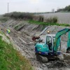 Wendover Arm: Work in progress relining the dry canal bed
