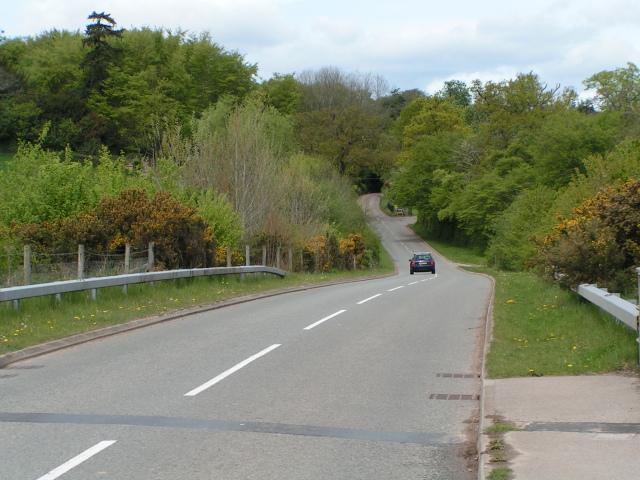 The road to Talaton at Fairmile