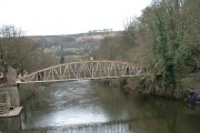 Footbridge over River Derwent, Matlock Bath