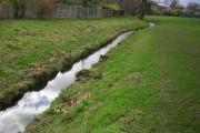 The River Shuttle in Marlborough Park, Lamorbey