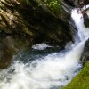 Waterfall on Inverchaolain Burn