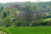 West Leake from track on Fox Hill