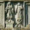Stone figures, St Bartholomew's church, Churchdown