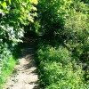 Footpath to the south-west, Churchdown Hill