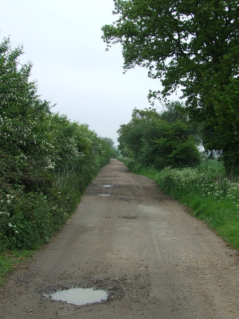 Track To Butley Ferry