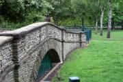 The bridge, Pickering Park