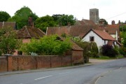 Tuddenham St Martin from the bridge