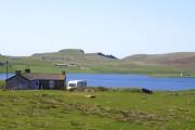 Towards the Loch of Spiggie