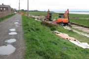 Major water works project