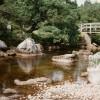 Strontian River and footbridge