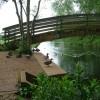 Footbridge over the River Lark, Mildenhall