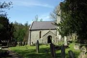Ilston church, south face