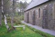 Woodland area at Rosehall Parish Church