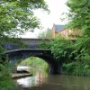 Grand Union Canal, Bridge 41 looking east, Leamington