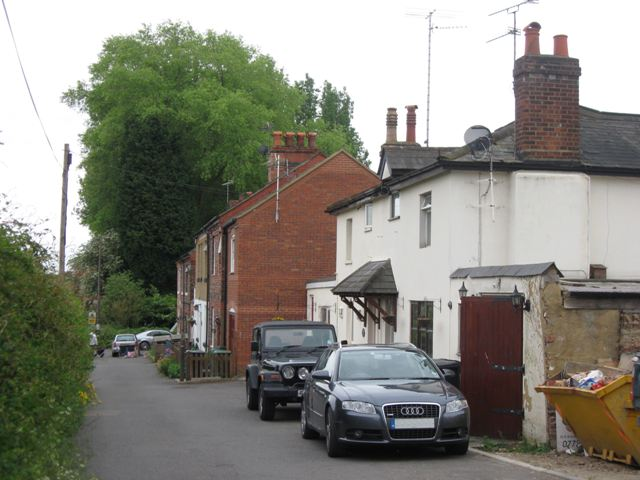 Houses facing the Railway Lines