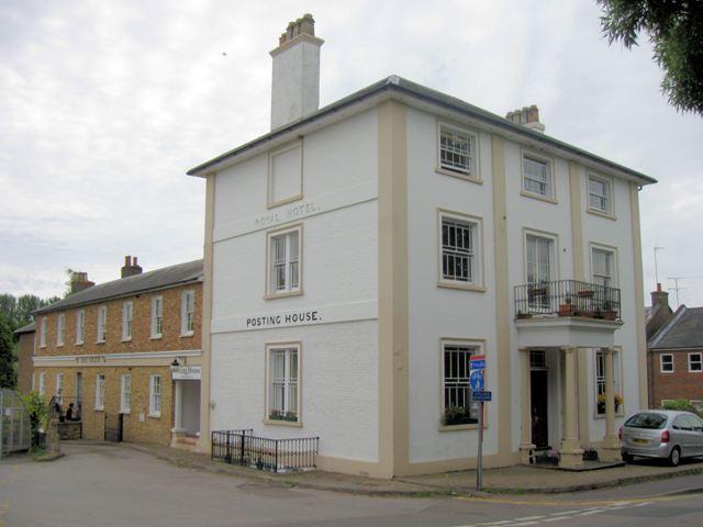 The former Royal Hotel at Tring Station, Aldbury